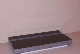 9. Graniitista teline